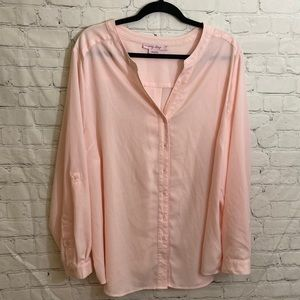In every story peach blouse
